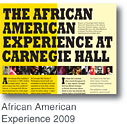 [The African American Experience at Carnegie Hall 2009]